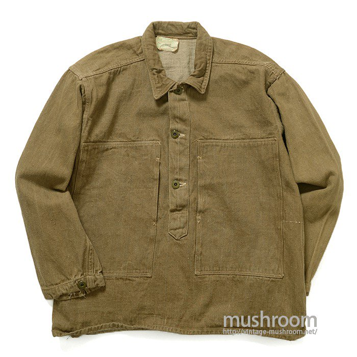 WW1 U.S.ARMY BROWN DENIM JUMPER( ONE-WASHED )