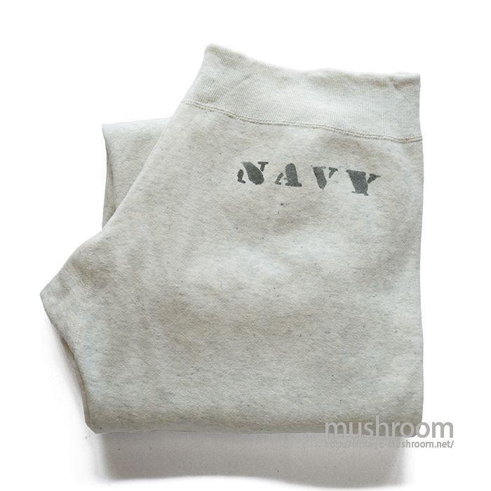 U.S.NAVY SWEAT PANTS WITH STENCIL( M/MINT )