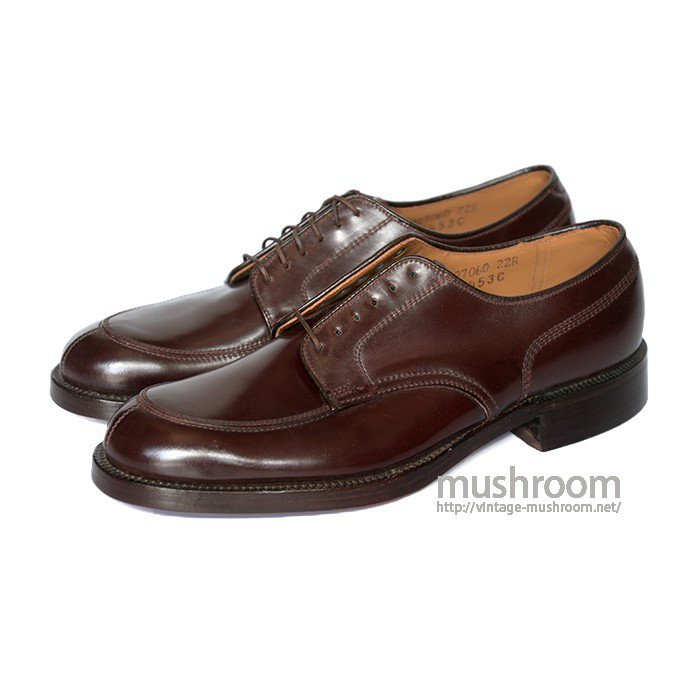 SUPER STRIDE CORDOVAN LEATHER SHOE( 7C/DEADSTOCK )