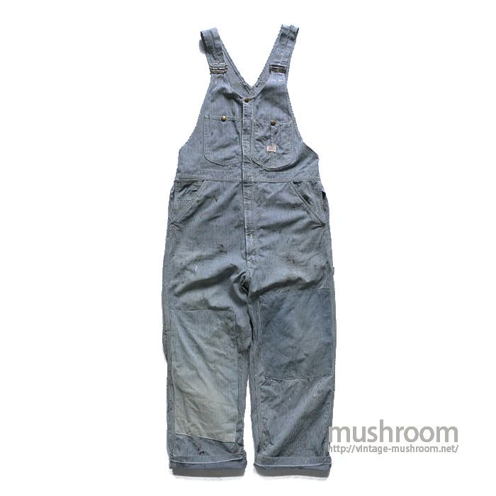 Lee WHIZIT HICKORY-STRIPE OVERALLS