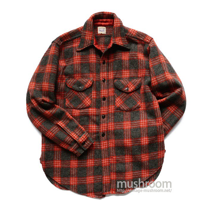 SWEET ORR PLAID WOOL WORK SHIRT