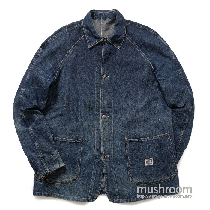 WW2 PAYDAY TWO-POCKET DENIM COVERALL