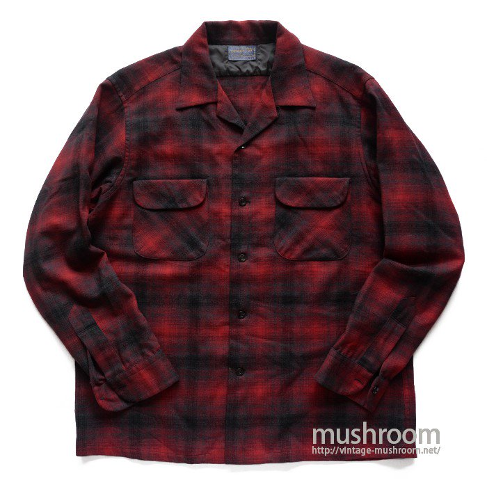 PENDLETON PLAID WOOL BOX SHIRT( L/MINT)