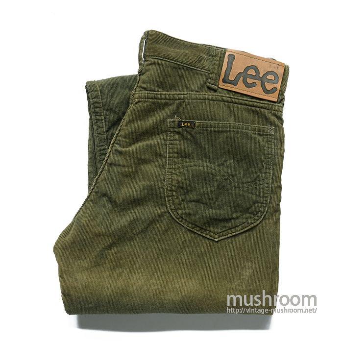 Lee LETTERMANS CORDS CORDUROY PANTS