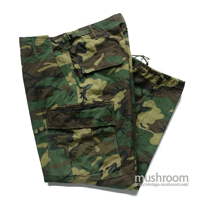 VIET-NAM WAR ERDL CAMO TROPICAL TROUSER( M-SHORT/MINT )