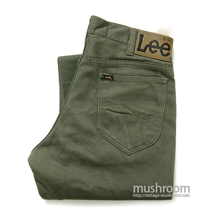 Lee WESTERNER COTTON PANTS