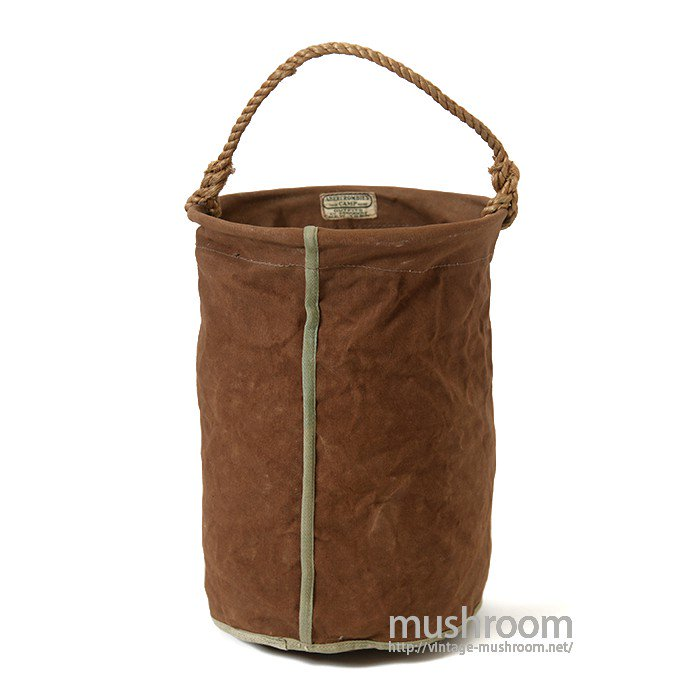 ABERCROMBIE&FITCH CANVAS CAMP BAG