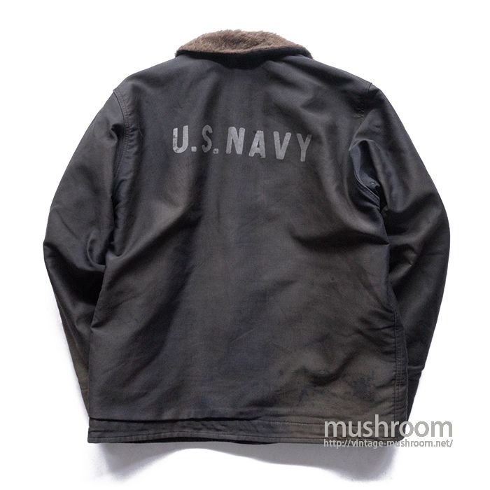 USN N-1 DECK JACKET( NAVY-BLUE )