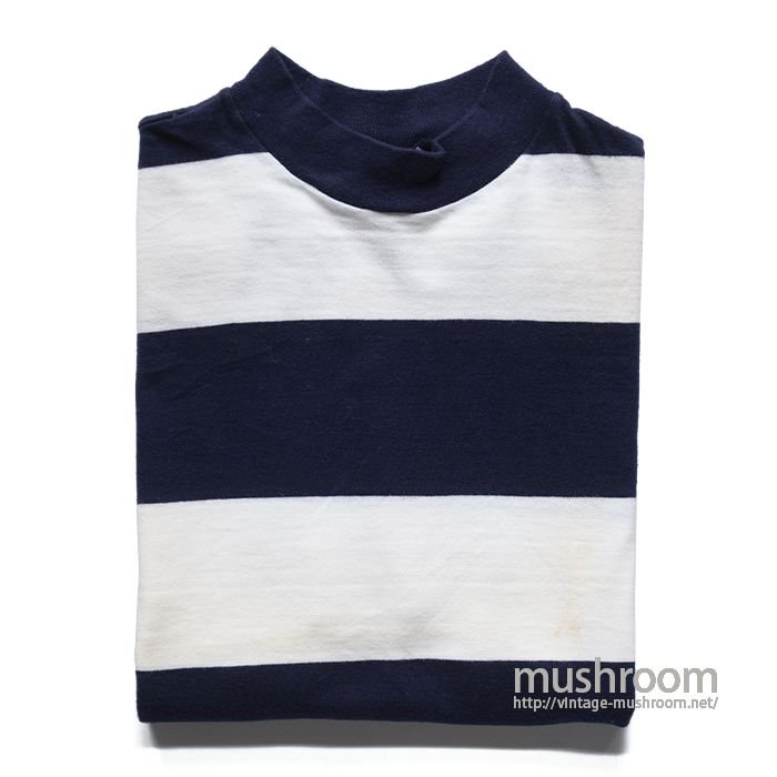SAVVY SPORTSWEAR WIDE BORDER STRIPE TEE( M/ONE-WASHED  )