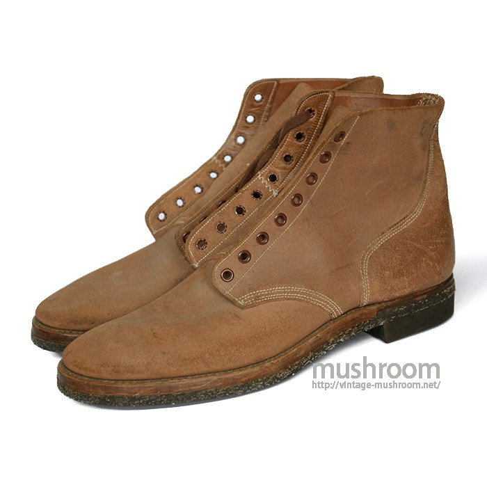 U.S.NAVY ROUGHOUT BOOTS( 11B/DEADSTOCK )