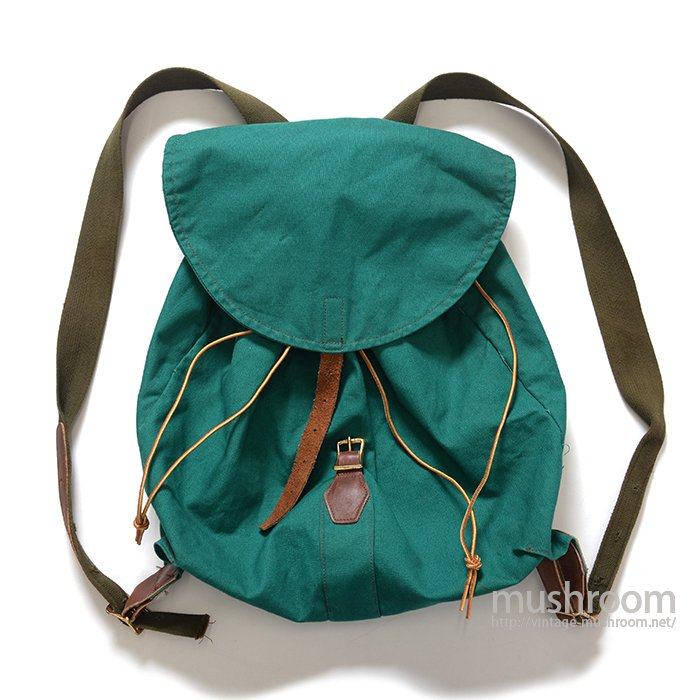 L.L.BEAN CANVAS RUCKSACK( 60's/GREEN )