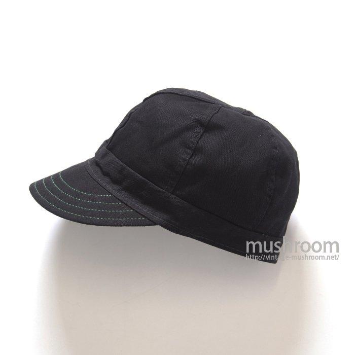 KROMER BLACK COTTON WORK CAP