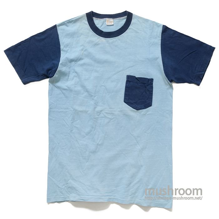 TOWNCRAFT TWO-TONE POCKET TEE