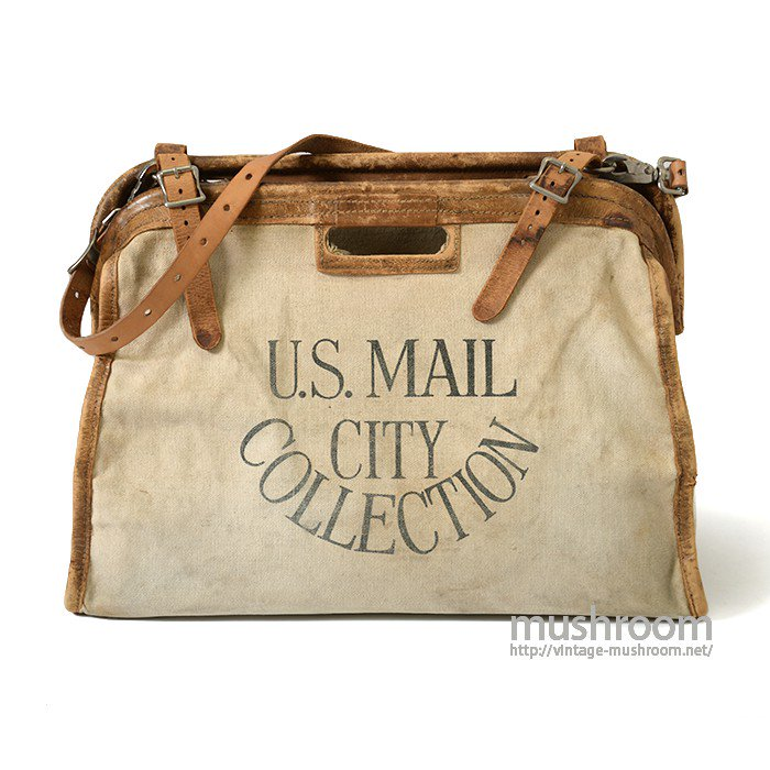 U.S.MAIL CITY COLLECTION CANVAS BAG