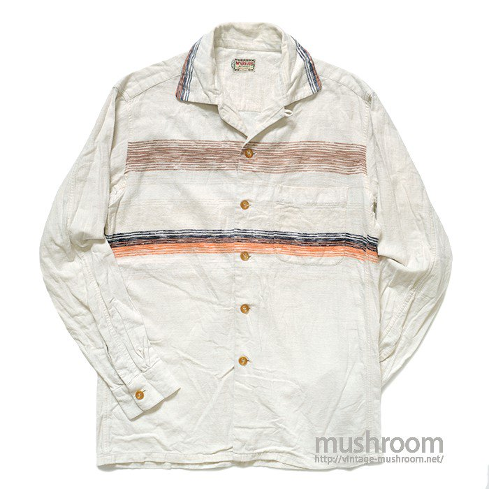 MCGREGOR STRIPE COTTON BOX SHIRT