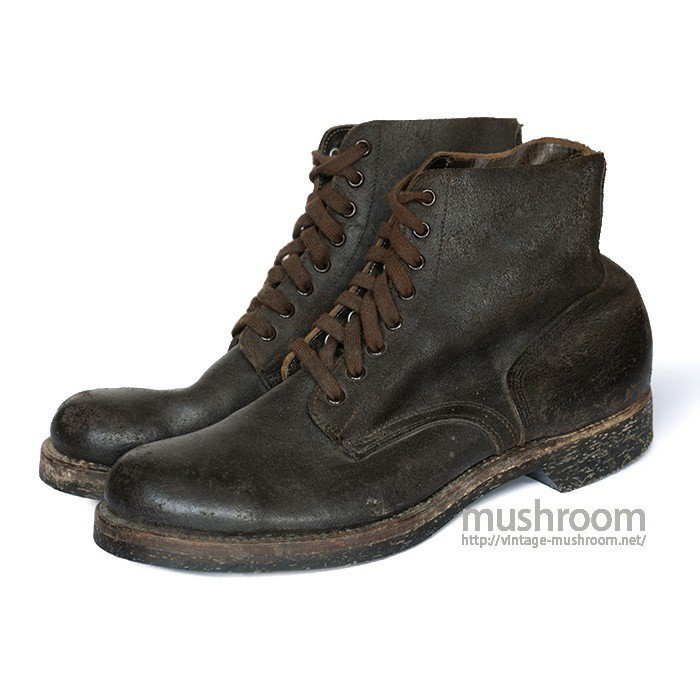 USMC ROUGHOUT BOOTS( 9 1/2EE/MINT )