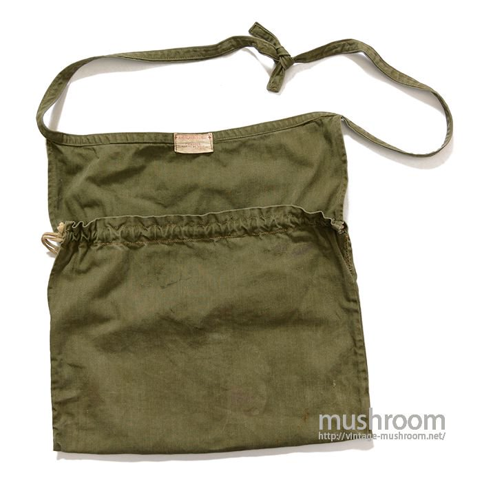 WW2 AMERICAN RED CROSS HBT APRON BAG