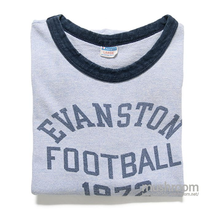 CHAMPION COLLEGE PRINT RINGER T-SHIRT