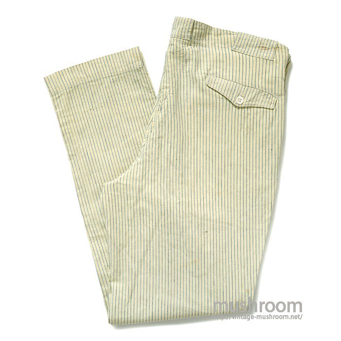 OLD STRIPE WORK TROUSERS