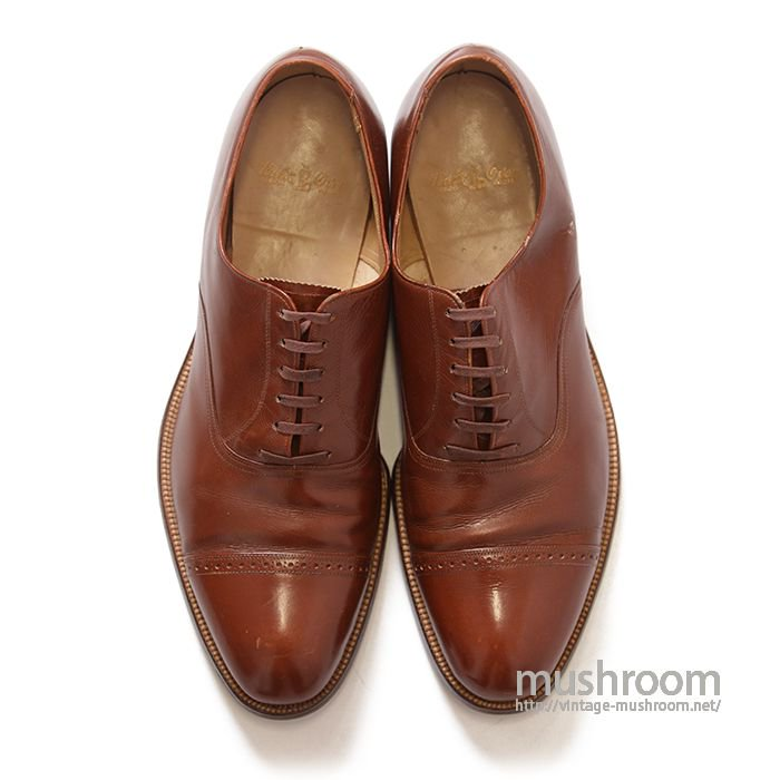 WALK OVER BROWN LEATHER SHOES