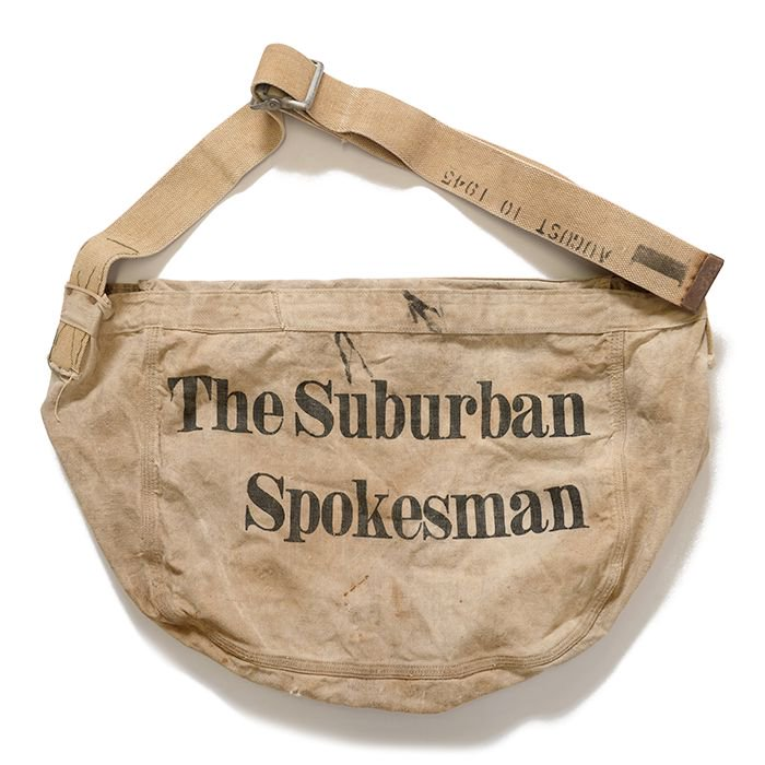 OLD NEWSPAPER BAG