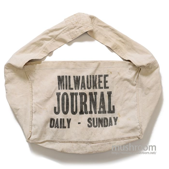 OLD NEWSPAPER CANVAS BAG