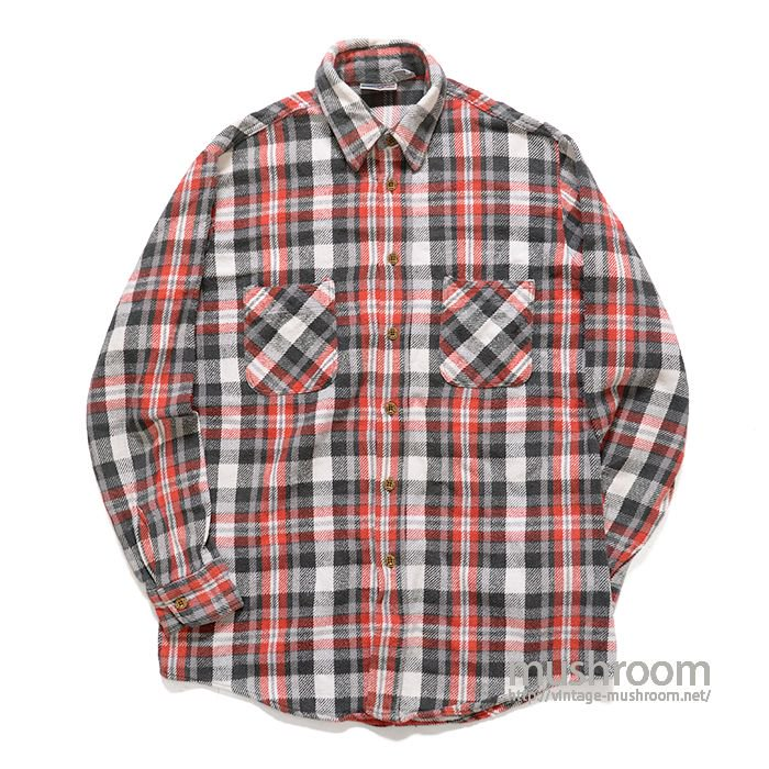 BIG MAC PLAID FLANNEL SHIRT( M/MINT )