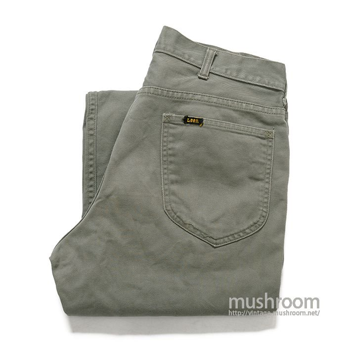 Leens TAPERED COTTON PANTS