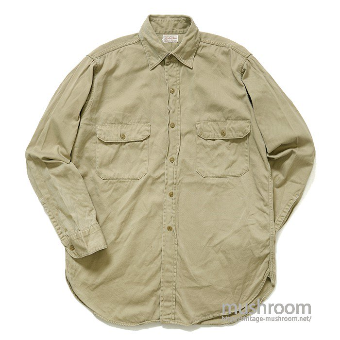 HERCULES COTTON WORK SHIRT