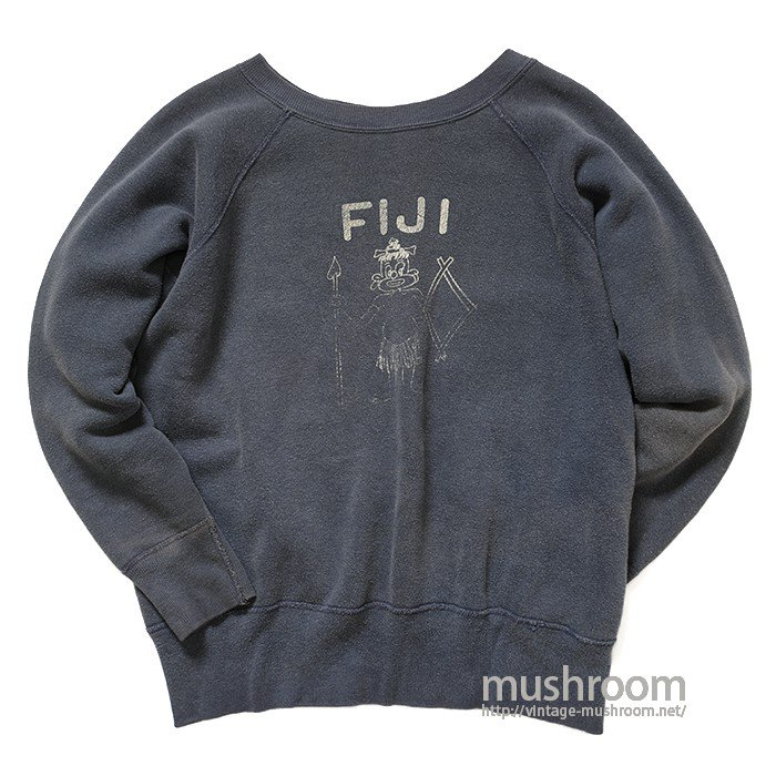 OLD FIJI PRINT SWEAT SHIRT