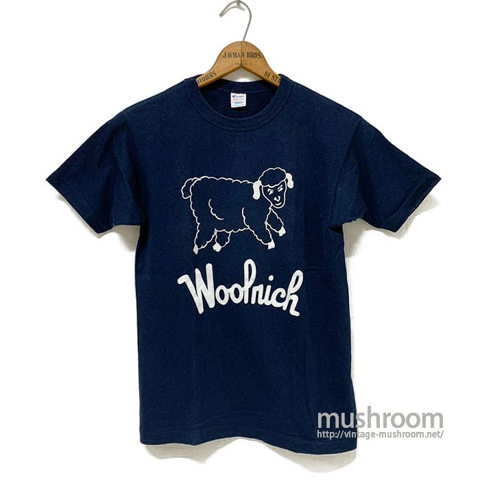 WOOLRICH T-SHIRT( MINT/MADE BY CHAMPION )