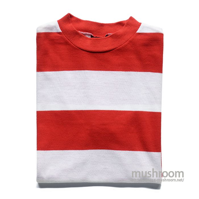 OLD WIDE BORDER STRIPE T-SHIRT( MINT )