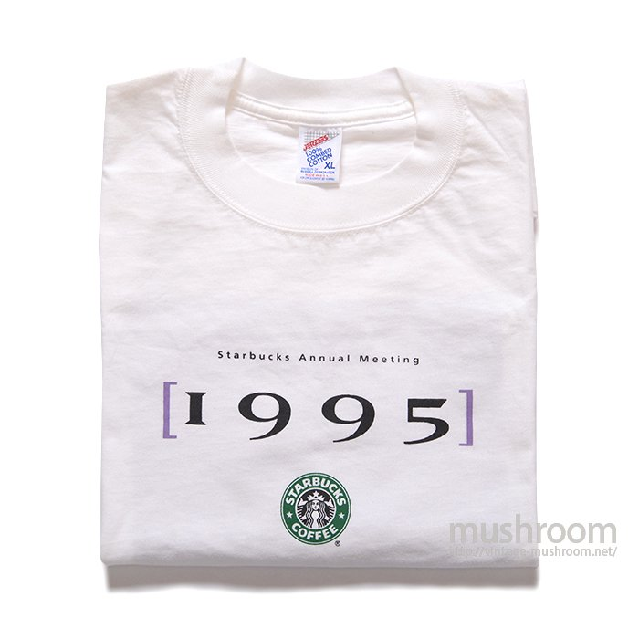 OLD STARBUCKS COFFEE TEE( XL/DEADSTOCK )