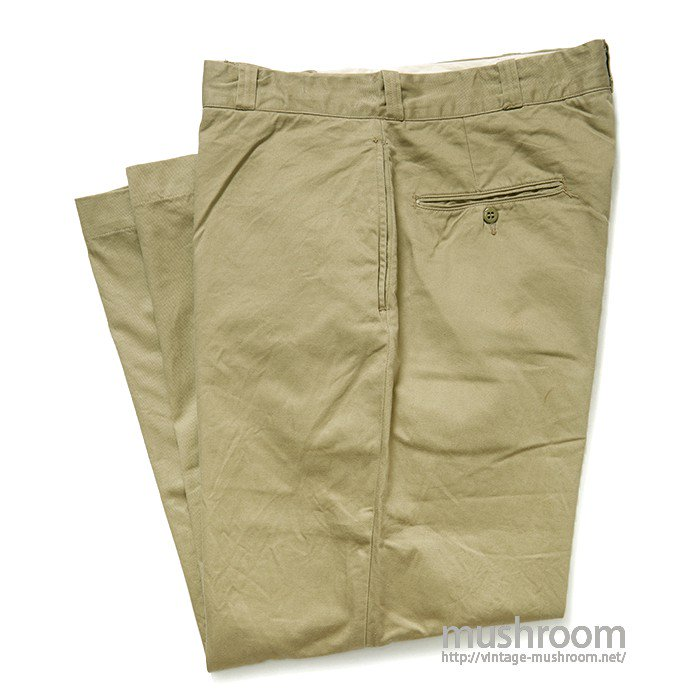 U.S.ARMY CHINO TROUSER( 36-33/MINT )