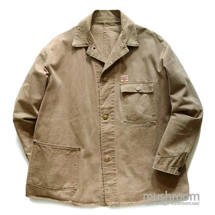 AROUND WW2 CARHARTT BROWN COTTON COVERALL