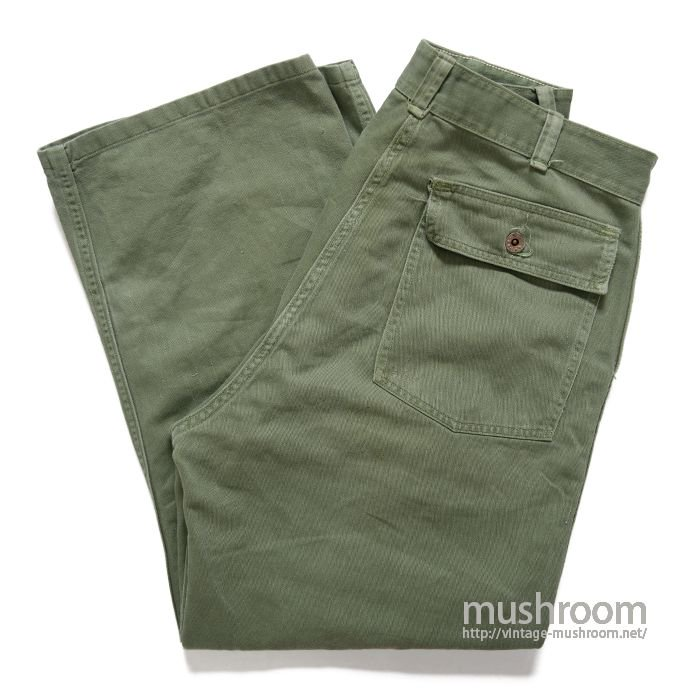 OLD COTTON UTILTY TROUSERS