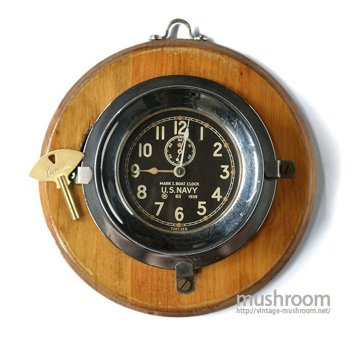 U.S.NAVY MARK1 DECK CLOCK
