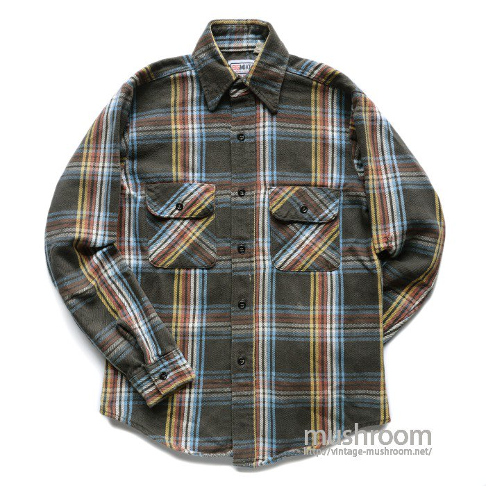 BIG MIKE PLAID FLANNEL SHIRT