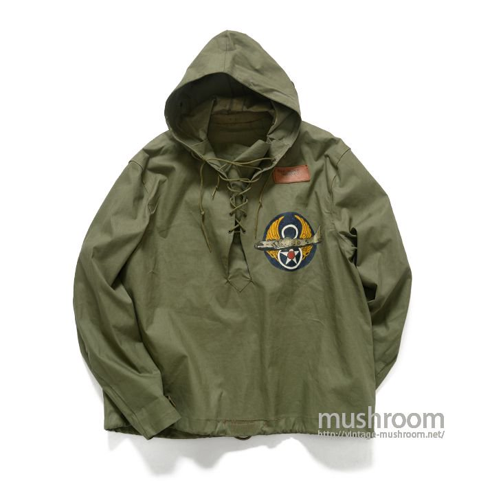 U.S.NAVY RAIN PARKA WITH PAINTED( L/MINT)