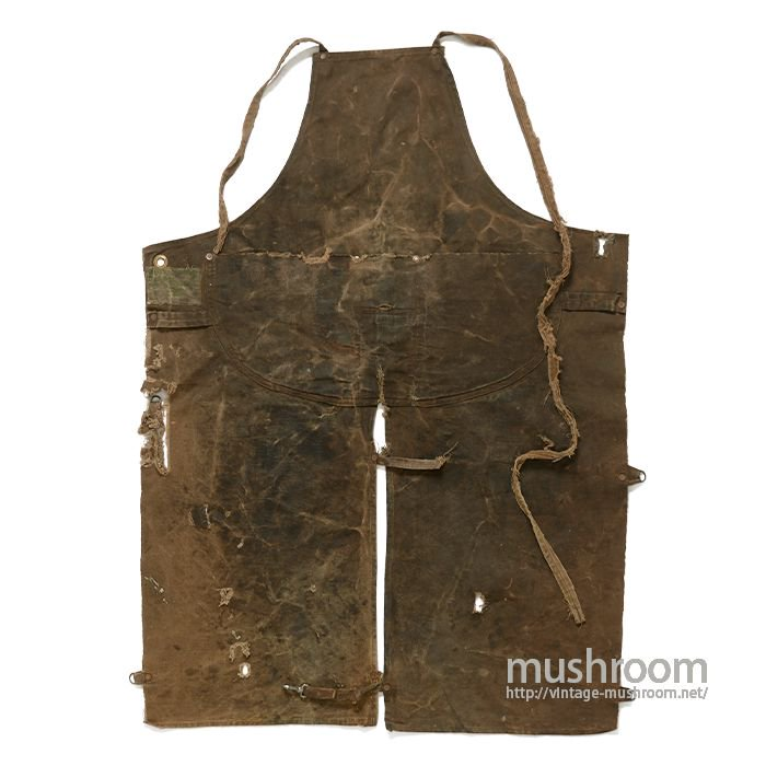 BOSS OF THE ROAD BROWN DUCK APRON