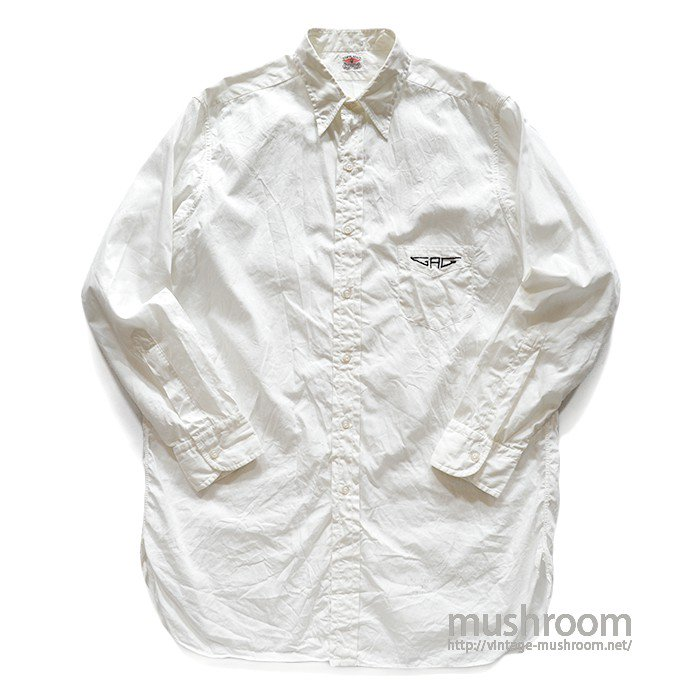 TOP FLIGHT WHITE COTTON SHIRT( 15H-3/MINT )