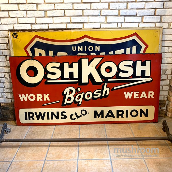 OSHKOSH ADVERTISING SIGN