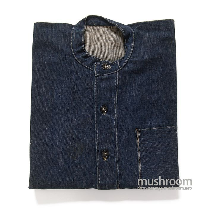 AROUND 1880's ONE POCKET DENIM JUMPER( DEADSTOCK )