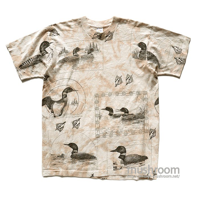 OLD DUCK PRINT T-SHIRT