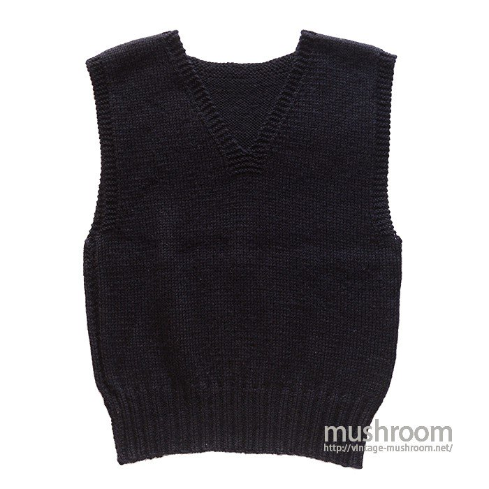AMERICAN RED CROSS V-NECK KNIT VEST