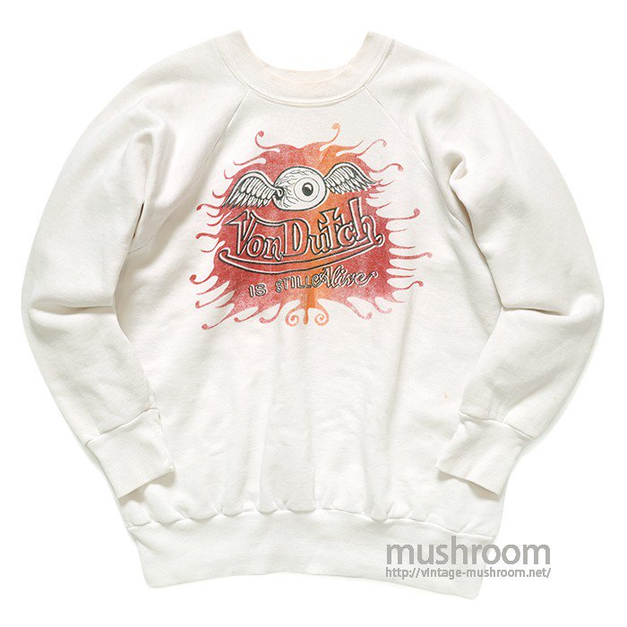 VON DUTCH FLYING EYEBALL SWEAT SHIRT