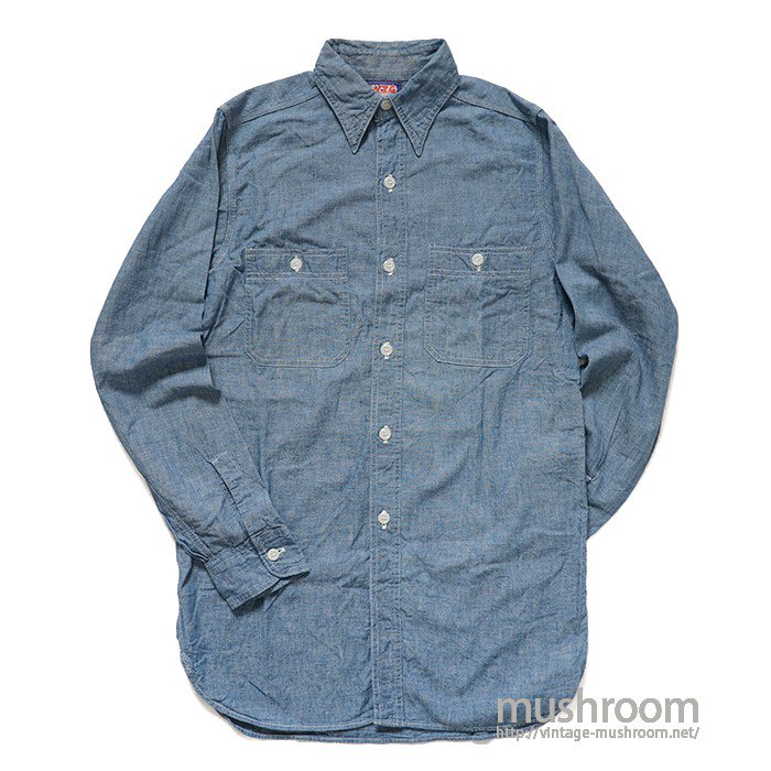 WTG CHAMBRAY WORK SHIRT( MINT )