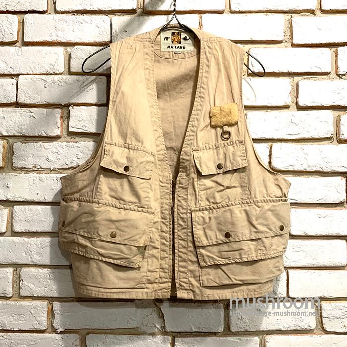 MASLAND FISHING VEST
