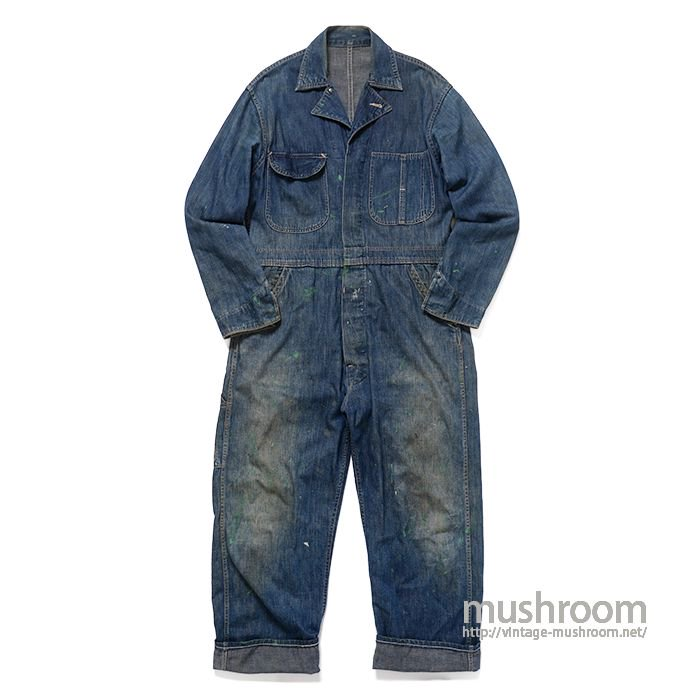 WW2 DENIM ALL IN ONE