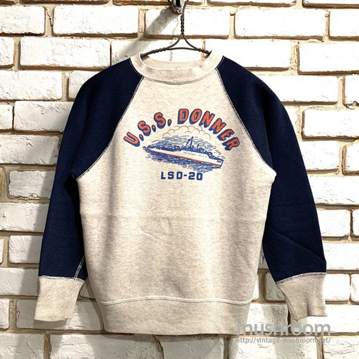 U.S.SUBMARINE LSD-20 SWEAT SHIRT( BOY'S14/MINT )